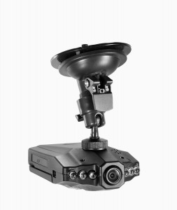 Auto Doppel-Kamera DVR Car Recorder Blackbox G-Sensor HD 720P m. ext. Kamera